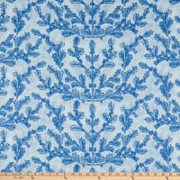 Lacefield Designs Christmas Holiberry Linen Blue