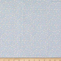 Fabric Editions Playful Cuties 2 Dots 1 Yard Flannel Precut Grey