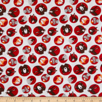 EXCLUSIVE Fabric Editons Forest Friends 1 Yard Precut Red