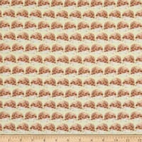 EXCLUSIVE Fabric Editions In the Forest Hedgehog 1 Yard Precut Yellow