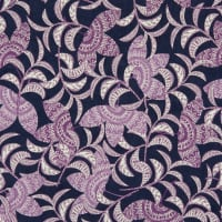 EXCLUSIVE Fabric Editions Michalina Floral 1 Yard Precut Navy