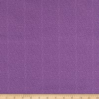 EXCLUSIVE Fabric Editions Michalina Dots 1 Yard Precut Purple