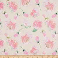 EXCLUSIVE Fabric Editions Savannah Toss 1 Yard Precut Peach