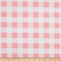 EXCLUSIVE Fabric Editions Savannah Check 1 Yard Precut Pink
