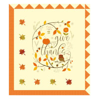 Riley Blake Give Thanks Panel Quilt Pattern