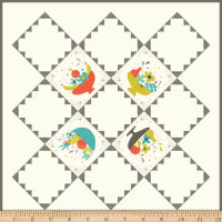 Riley Blake Sixties Throwback Quilt And Pillow Pattern