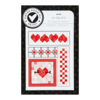 Riley Blake On Top of It Arrow Heart Quilt and Table Runner Pattern