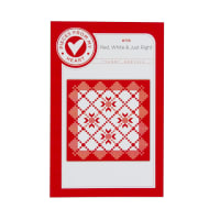 Riley Blake Red, White and Just Right Quilt Pattern