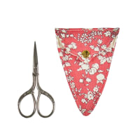 Liberty of London Scissor Holder Fruit Sihouette Coral