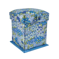 Liberty of London Victorian Style Sewing Box Wisely Grove Blue