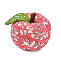 Liberty of London Apple Pin Cushion Fruit Sihouette Coral