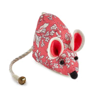 Liberty of London Mouse Pin Cushion Fruit Sihouette Coral