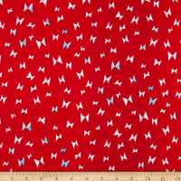 Cotton + Steel Once Upon a Time Flying Ribbon Red