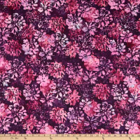 RJR Nature Walk Batiks Fall Floral Blackberry