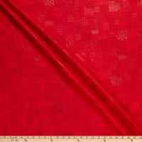RJR Heavy on the Metal Rebel Quilter Metallic Flaming Red