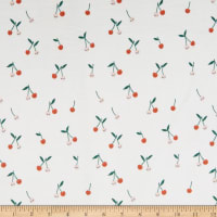 EZ Fabric Minky Cherry Cute Cherry Small Cream