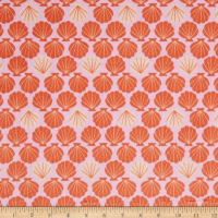 EZ Fabric Minky Save the Ocean Shell-Fish Shell
