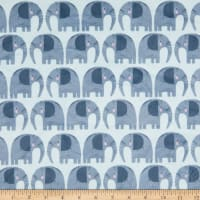 EZ Fabric Minky Rule the City Rule The City Light Blue
