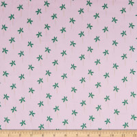 EZ Fabric Minky Rule the City Palm Breeze Mauve