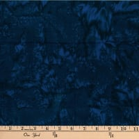 Hoffman Bali Batik Watercolors Deep Blue