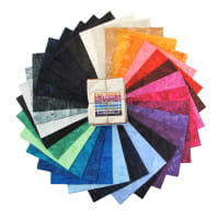 Hoffman Bali Batik Watercolor Fat Quarter Bundle 31pcs Rainbow