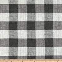 Bella Dura Home Performance Outdoor Plaid Reputation Woven Onyx