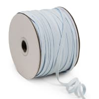 "1/4"" Elastic Band - 100 Yard Spool Baby Blue"