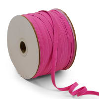 "1/4"" Elastic Band - 100 Yard Spool Fuchsia"