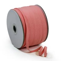 "1/4"" Elastic Band - 100 Yard Spool Pink"