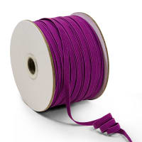 "1/4"" Elastic Band - 100 Yard Spool Purple"