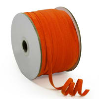 "1/4"" Elastic Band - 100 Yard Spool Orange"