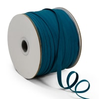 "1/4"" Elastic Band - 100 Yard Spool Teal"