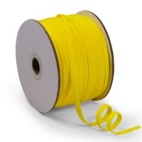"1/4"" Elastic Band - 100 Yard Spool Yellow"