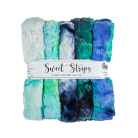 "Shannon Minky Cuddle 10"" Strips 5 Pack Cosmic"