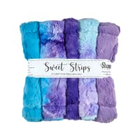 "Shannon Minky Cuddle 10"" Strips 5 Pack Magic"