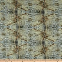 Tim Holtz Eclectic Elements Abandoned Stained Damask Neutral