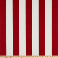 Bryant Indoor/Outdoor Awning Stripe Jungle Crimson