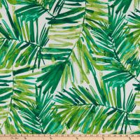 Bryant Indoor/Outdoor Coastal Palm Green Leaf