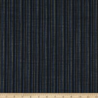 Kaufman Sevenberry Nara Homespun Small Stripe Black