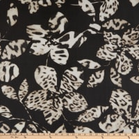 Telio Luna Stretch Mesh Print Animal Black