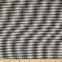 Telio Maxime Yarn Dyed Stretch Woven Suiting Houndstooth Black/Off White