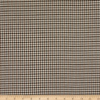 Telio Maxime Yarn Dyed Stretch Woven Suiting Plaid Black/Off White/Pine
