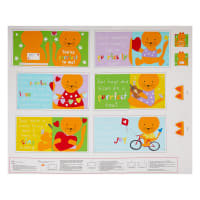 "Huggable And Loveable IX Kitten Book 36"" Panel Multi"