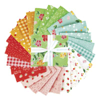 Riley Blake Strawberry Honey Fat Quarter Bundle 24 Pcs