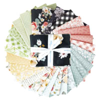 Riley Blake Gingham Gardens Fat Quarter Bundle 27 Pcs