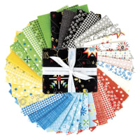 Riley Blake Oh Happy Day Fat Quarter Bundle 34 Pcs