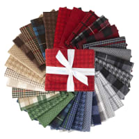 Riley Blake All About Plaids Fat Quarter Bundle 30 Pcs
