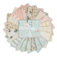 Riley Blake Rose & Violet's Garden Fat Quarter Bundle 21 Pcs