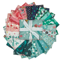 Riley Blake Ahoy Mermaids Fat Quarter Bundle 21 Pcs