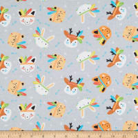 Camelot Wild Menagerie Flannel Grey